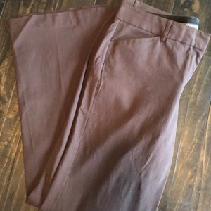 Express Editor Pants Brown Size 10